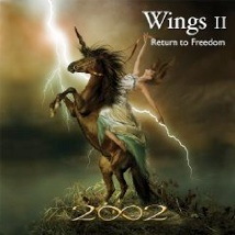 Cover image of the album Wings II: Return to Freedom by 2002