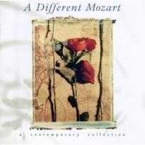 Cover image of the album A Different Mozart by Philip Aaberg