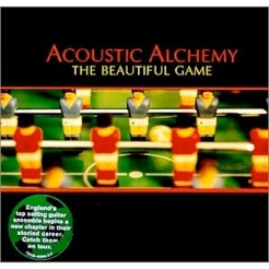 Cover image of the album The Beautiful Game by Acoustic Alchemy