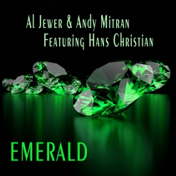Cover image of the album Emerald (single) by Al Jewer and Andy Mitran