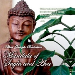 Cover image of the album Mandala of Sayla and Ava by Allan Giuseppe Badalassi