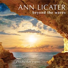 Cover image of the album Beyond the Waves by Ann Licater