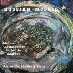 Cover image of the album Russian Mosaic by Anna Keiserman