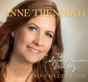 Cover image of the album The Sunflower Waltz by Anne Trenning