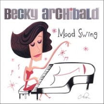 Cover image of the album Mood Swing by Becky Archibald