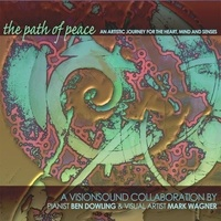 Cover image of the album The Path of Peace by Ben Dowling