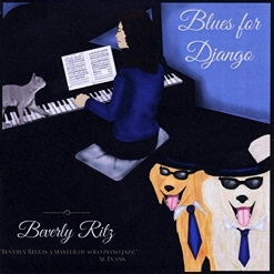 Cover image of the album Blues for Django by Beverly Ritz