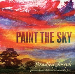 Cover image of the album Paint the Sky by Bradley Joseph