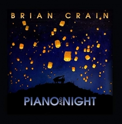 Cover image of the album Piano and Night by Brian Crain