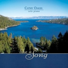 Cover image of the album Like a Song by Cathy Oakes
