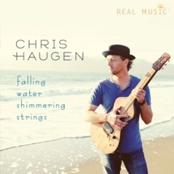 Cover image of the album Falling Water Shimmering Strings by Chris Haugen