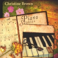 Cover image of the album Piano Stories by Christine Brown