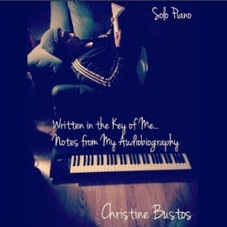 Cover image of the album Written in the Key of Me: Notes from My Audiobiography by Christine Bustos