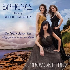 Cover image of the album Spheres: The Music of Robert Paterson by Claremont Trio