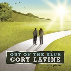 Cover image of the album Out of the Blue by Cory Lavine