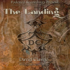 Cover image of the album The Landing by David Clavijo