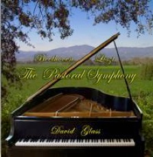 Cover image of the album Beethoven/Liszt: Pastoral Symphony by David Glass