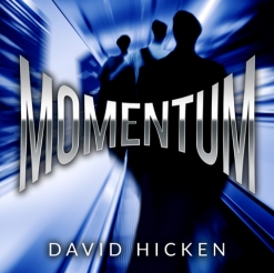 Cover image of the album Momentum by David Hicken