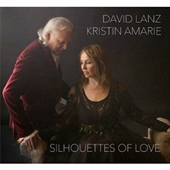 Cover image of the album Silhouettes of Love by David Lanz and Kristin Amarie