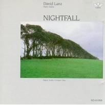 Cover image of the album Nightfall by David Lanz