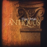 Cover image of the album Antiquus by David Wahler