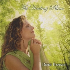 Cover image of the album The Healing Piano by Debbie Fortnum