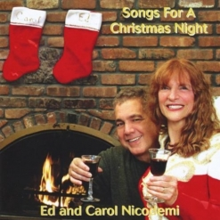 Cover image of the album Songs For a Christmas Night by Ed and Carol Nicodemi