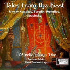 Cover image of the album Tales From the East by EStrella Piano Duo