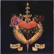 Cover image of the album Songs of Love and Hate by Ezekiel