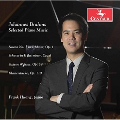 Cover image of the album Johannes Brahms: Selected Piano Music by Frank Huang