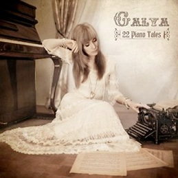 Cover image of the album 22 Piano Tales by Galya