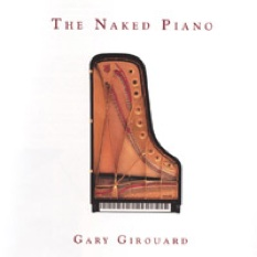 Cover image of the album The Naked Piano by Gary Girouard