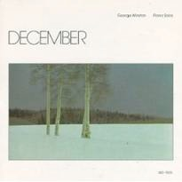 Cover image of the album December by George Winston
