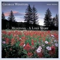 Cover image of the album Montana - A Love Story by George Winston