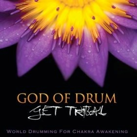 Cover image of the album God of Drum by Get Tribal