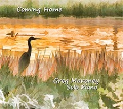 Cover image of the album Coming Home by Greg Maroney