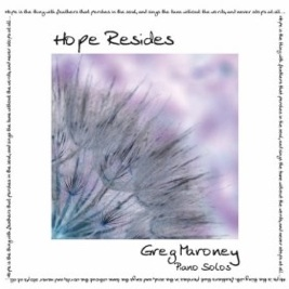 Cover image of the album Hope Resides by Greg Maroney