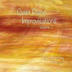 Cover image of the album Quiet Piano Improvisations, Volume 2 by Greg Maroney