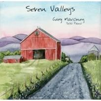 Cover image of the album Seven Valleys by Greg Maroney