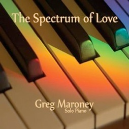 Cover image of the album The Spectrum of Love by Greg Maroney