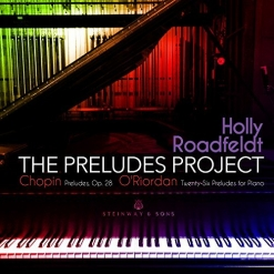 Cover image of the album The Preludes Project by Holly Roadfeldt