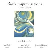 Cover image of the album Bach Improvisations by Ira Stein