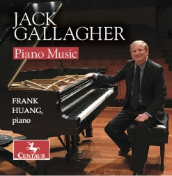 Cover image of the album Piano Music of Jack Gallagher by Frank Huang
