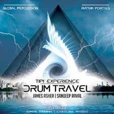 Cover image of the album Drum Travel by James Asher