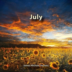 Cover image of the album July by James Michael Stevens