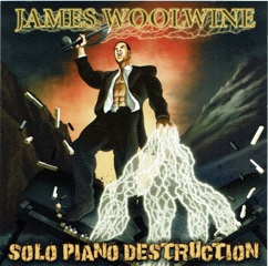 Cover image of the album Solo Piano Destruction by James Woolwine