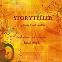 Cover image of the album Storyteller by Jason Boyd