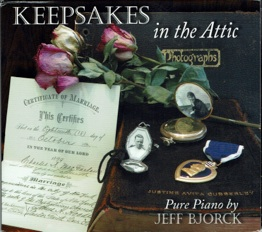 Cover image of the album Keepsakes in the Attic by Jeff Bjorck