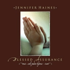 Cover image of the album Blessed Assurance by Jennifer Haines