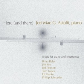 Cover image of the album Here (and there) by Jeri-Mae G. Astolfi